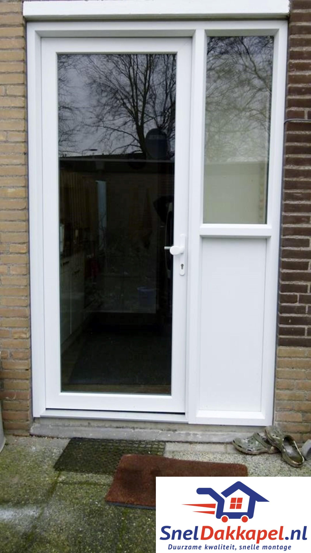 Kunststof Deur 7 - SnelDakkapel.nl
